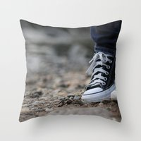 Converse Throw Pillow