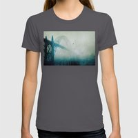 Into The Fog Womens Fitted Tee Asphalt SMALL