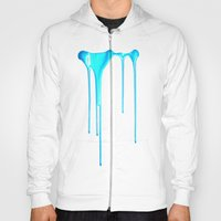 Sky Splatter (F0r cases, skins, and shirts) Hoody
