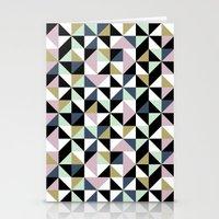 Geometric Pattern 01 Stationery Cards