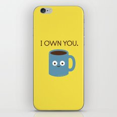 Coffee Talk iPhone & iPod Skin