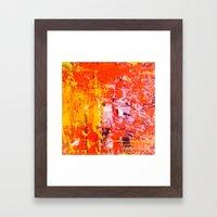 SCRAPE 4 Framed Art Print