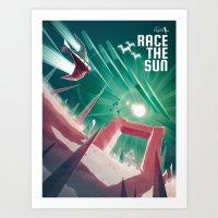 Race the Sun Art Print