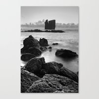Seascape with islets Canvas Print