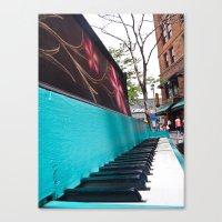 Vintage Piano (1) Canvas Print