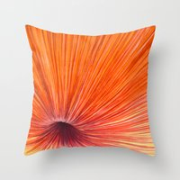 Orange And Red Throw Pillow
