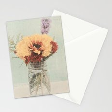 The bouquet Stationery Cards