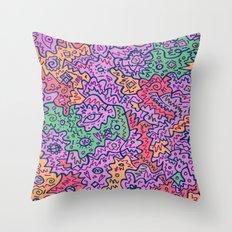 Jean-Michel Basquiat Throw Pillow