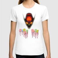 Happy Toyz Womens Fitted Tee White SMALL