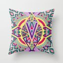 Abstract Journey Throw Pillow