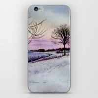 Winter Evening In Racine iPhone & iPod Skin