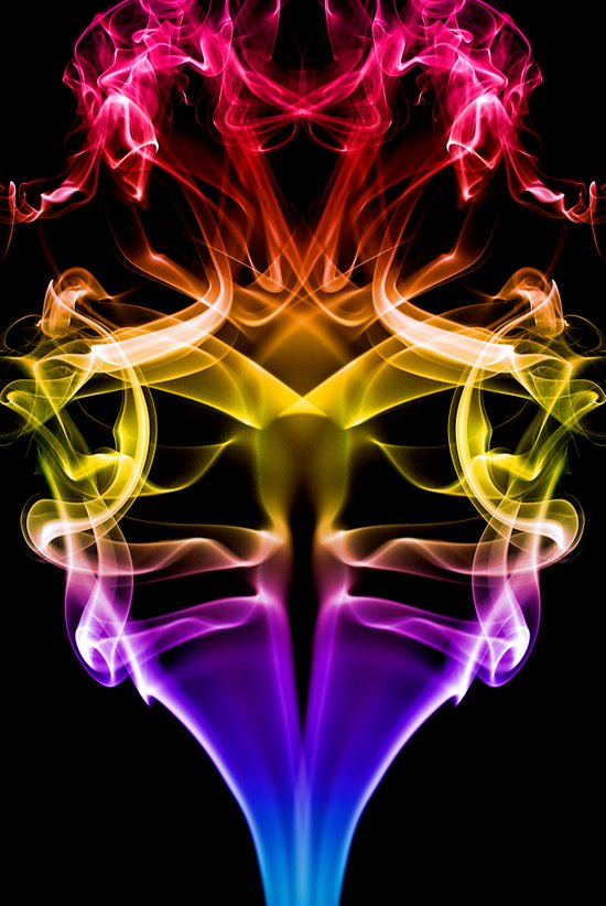 Smoke Photography #31 Art Print