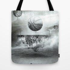 1891 - Basketball Tote Bag