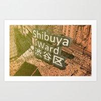 Area Name Art Print