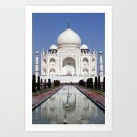 Taj Mahal II Art Print