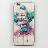 Krusty iPhone & iPod Skin