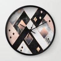 Diamonds 1 Wall Clock