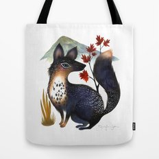Speckled Fox Tote Bag