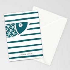 PIXE 1 (dark blue) Stationery Cards