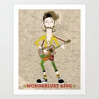 Gogol Bordello Eugene H�… Art Print