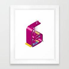 Letter G Framed Art Print