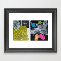 Universal Patterns Framed Art Print