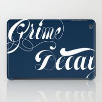 Grimey Type. iPad Case
