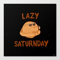 Lazy Saturnday Canvas Print
