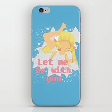 Let Me Be With You iPhone & iPod Skin