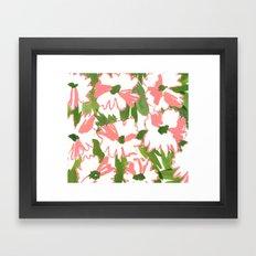 August Floral Framed Art Print