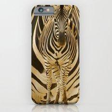 Zebra on Zebra iPhone 6 Slim Case
