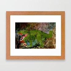 MAN EATER. Framed Art Print