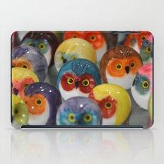 Alabaster Owls iPad Case