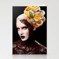 Chocolate Orange Stationery Cards