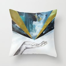 Let it Come Throw Pillow