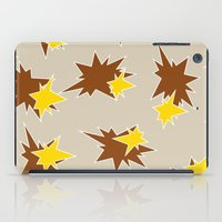 Stars (Brown & Gold on Sand) iPad Case