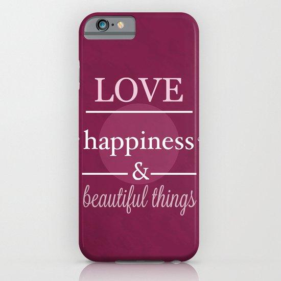 I Wish You ... iPhone & iPod Case