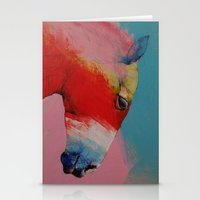 horse Stationery Cards featuring Horse by Michael Creese