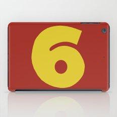 Number 6 iPad Case