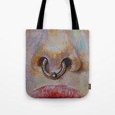Nose Ring Tote Bag