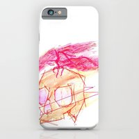 iPhone & iPod Case featuring Boneshuck by Mikah Washed