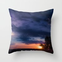 Dawn Of Dreams Throw Pillow