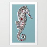 Seahorse #2 Art Print