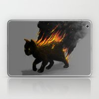 This Cat Is On Fire! Laptop & iPad Skin