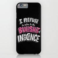 iPhone & iPod Case featuring The Bullshit of Innocence  by Chris Piascik