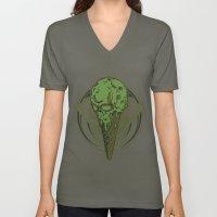Ice Cream Is My Kryptoni… Unisex V-Neck