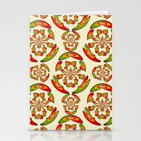Portuguese Flag Pattern Stationery Cards