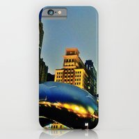 iPhone & iPod Case featuring Chicago Bean by Sookie Endo