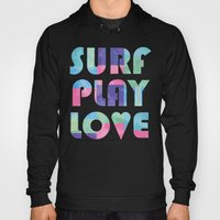Surf Play Love Hoody