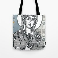 Madonna of Today's Horoscope Tote Bag